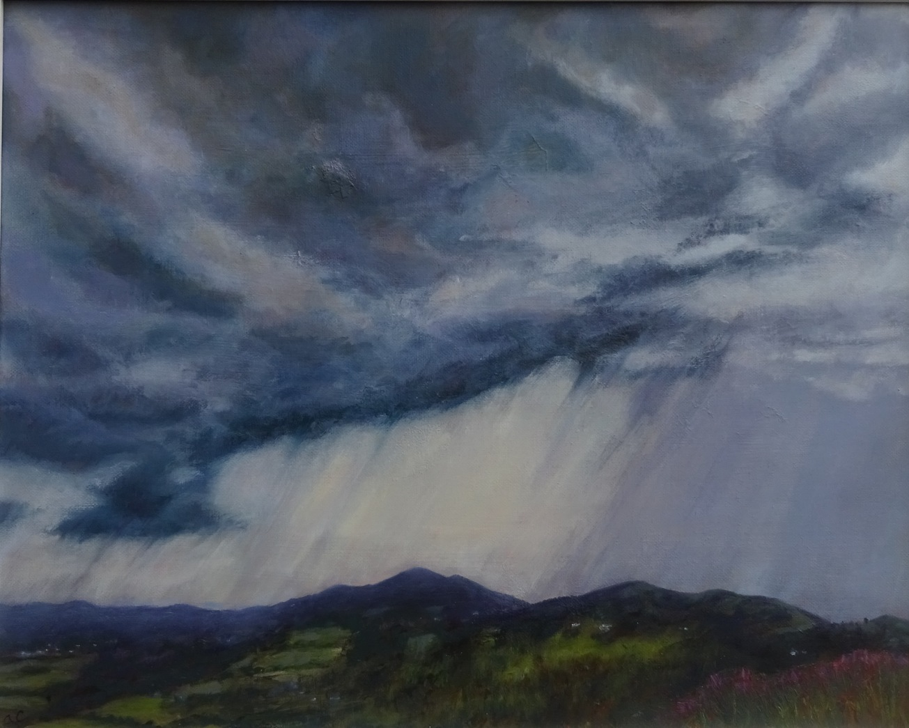 Storm over the Malverns