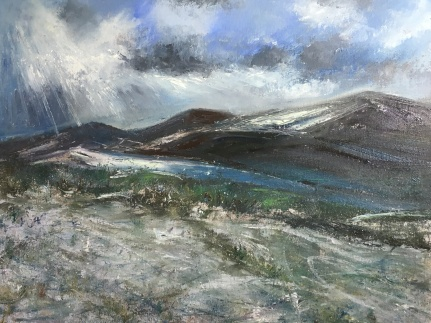 Snow can be silver 40x50cms