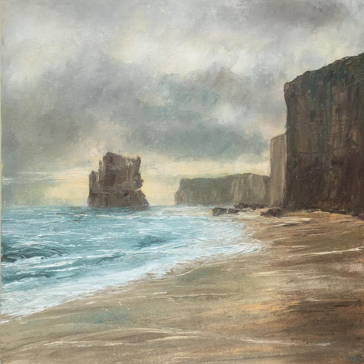 Great Ocean Road Australia oil painting by Anna Cumming