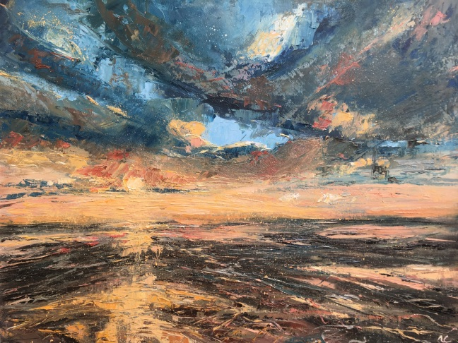 Long way from home 40x50cms