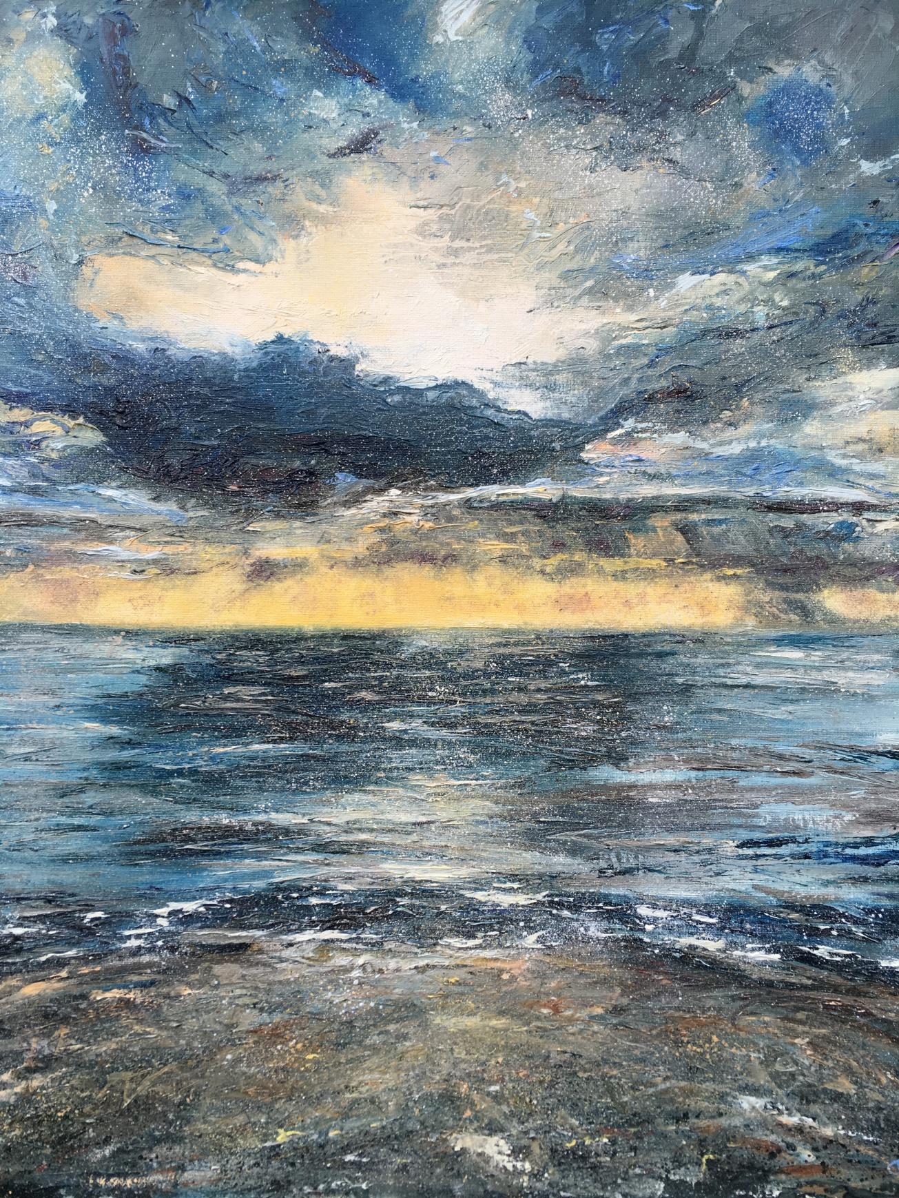 Sunset Tenby