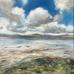 Carsaig Bay, Tayvallich oil painting by Anna Cumming