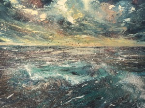 Seasorcery oil painting by Anna Cumming