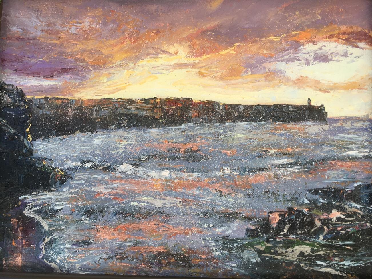 Sunrise, Embo Pier