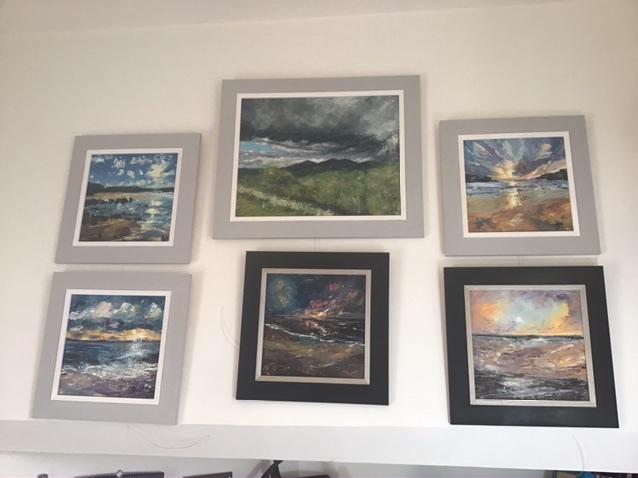 Anna Cumming studio wall