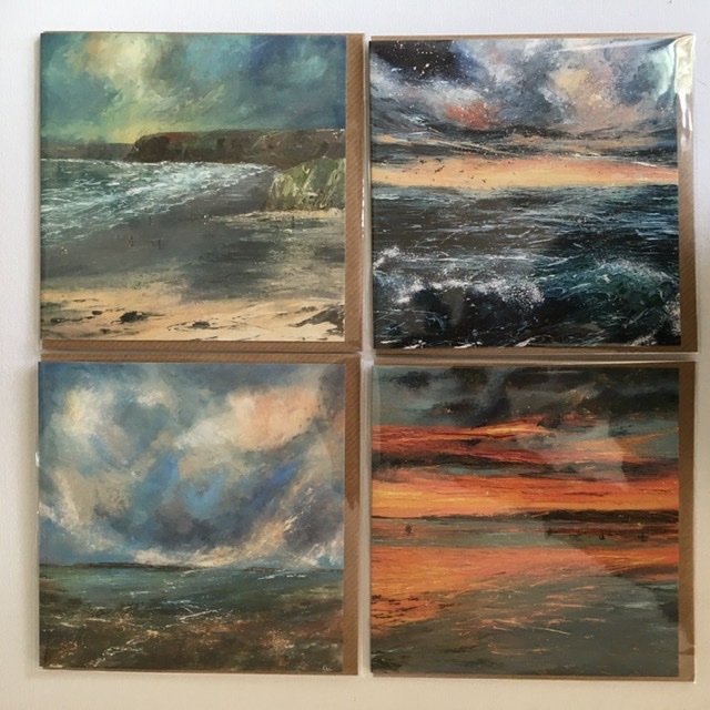 Seascapes greeting cards for sale by Anna Cumming