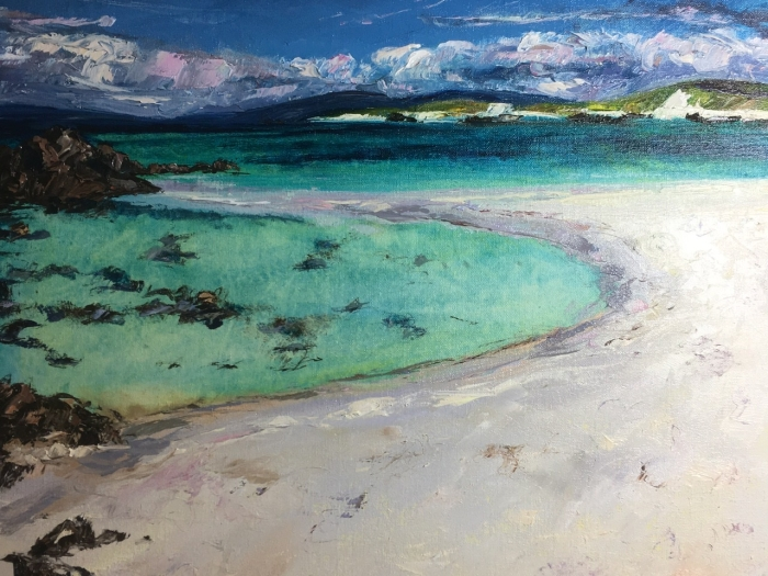 Crystal clear waters off Iona