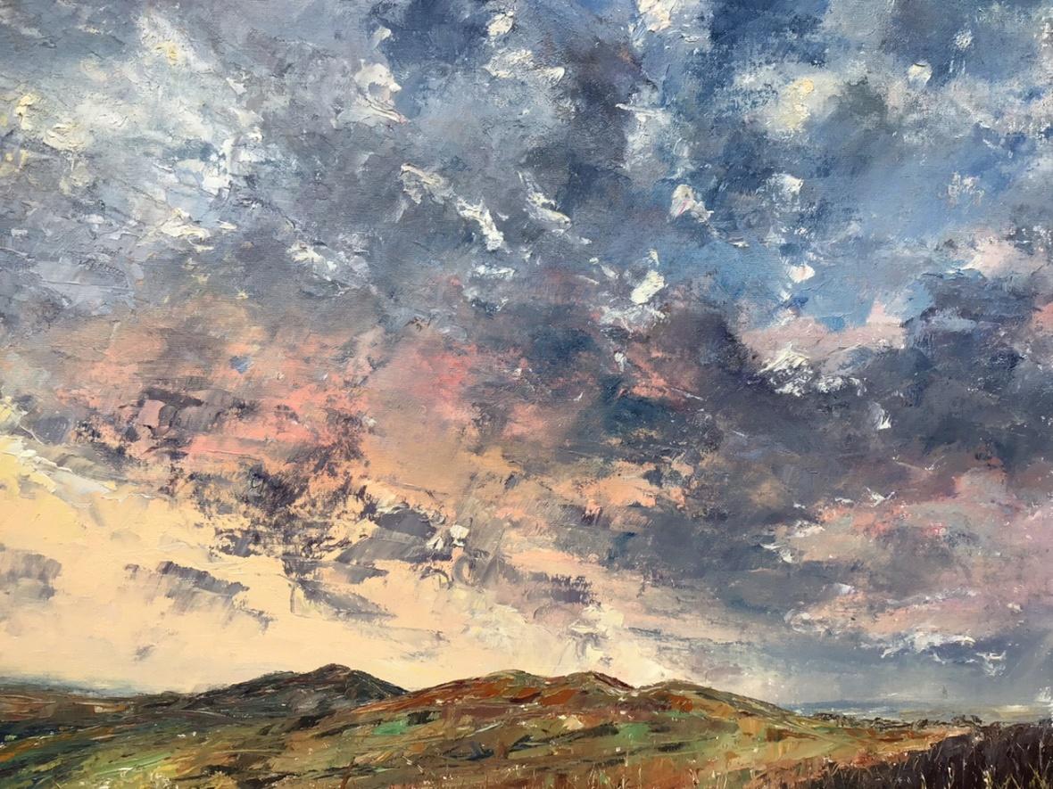 Flirting clouds, Malverns