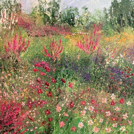 Summertime, Picton Garden, 30cm sq
